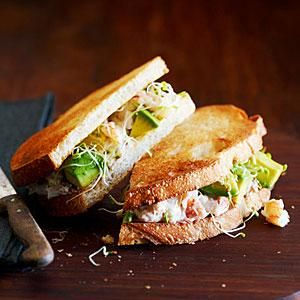 California Crab Sandwich Recipe | MyRecipes.com