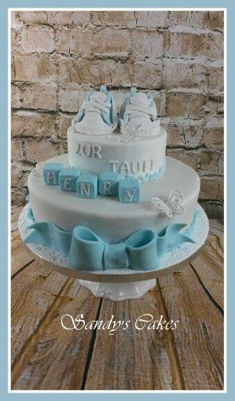 Tauftorte /Christening Cake
