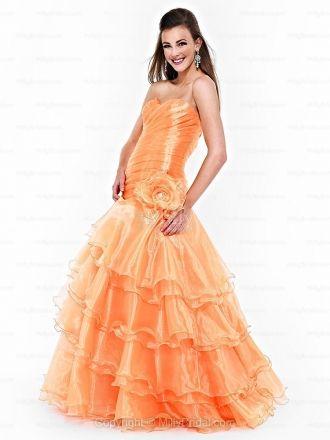 17 Best ideas about Orange Prom Dresses on Pinterest | Orange ...