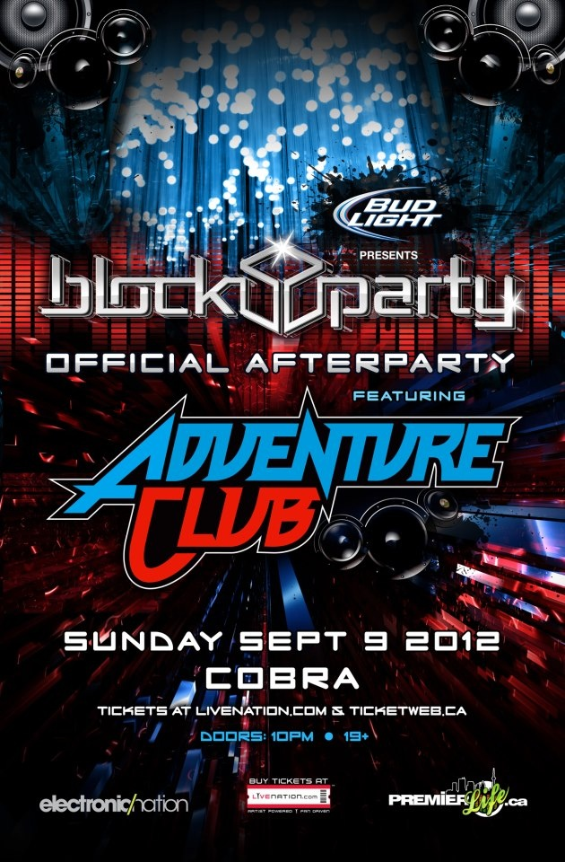 Calvin Harris Block Party Official After Party Ft. Adventure Club