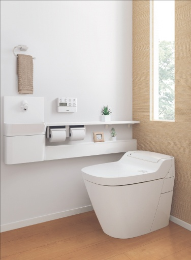 Tankless toilet by Panasonic