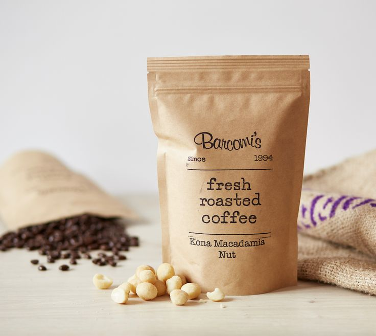 Barcomi's Kaffee :: Kona Macadamia Nut