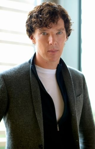 How many sweaters is he wearing in this shoot?  Benedict! Have mercy! You're already viscously huggable.