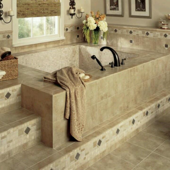 tub tile bathroom ideas pinterest