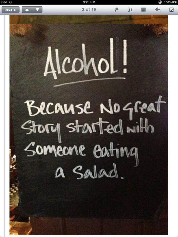 Well - not always but a little sip does help.......