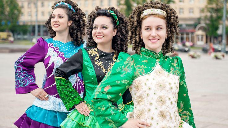 La vestimenta de la danza irlandesa