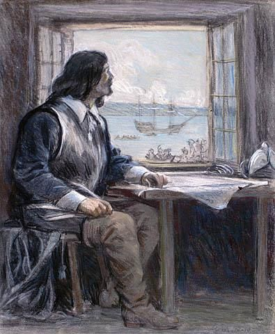 Samuel de Champlain (1574-08-13 – 1635-12-25). Le 3 juillet 1608, cet…