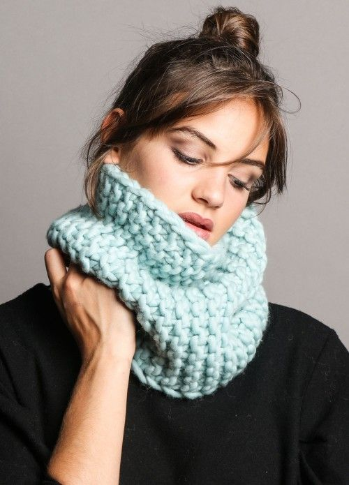 Himba Snood | We Are Knitters