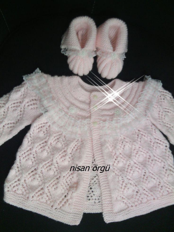 0-1 yaş bebek hırka ve patik