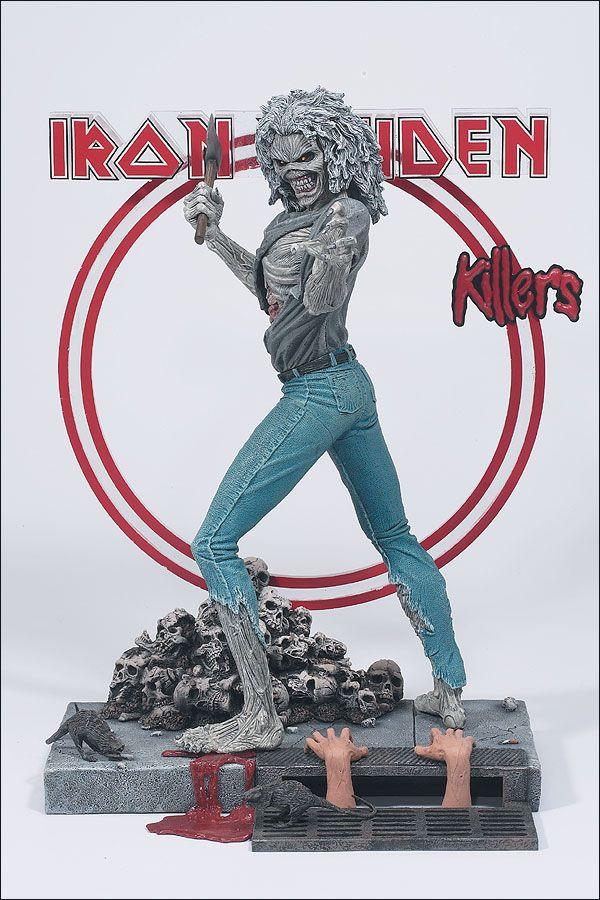 Iron Miaden - Killers Action Figure - 2002