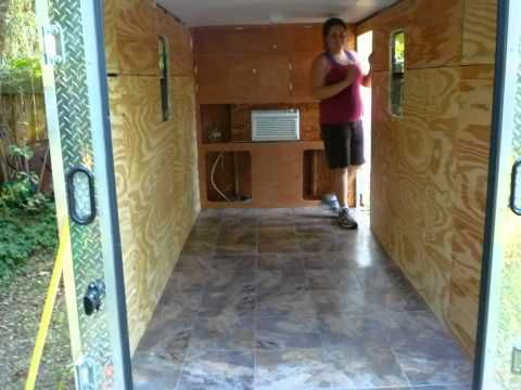 7 Best Cargo Trailer Images On Pinterest Camp Trailers