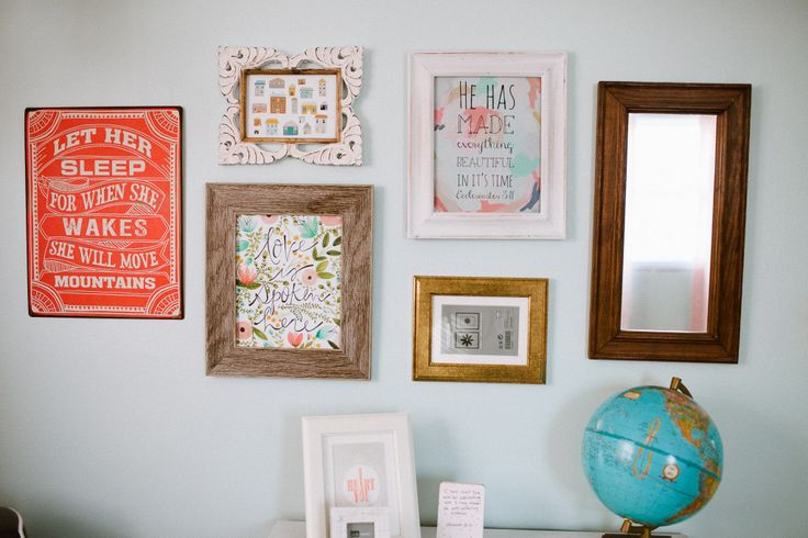 Love this vintage-inspired gallery wall! {Click through to see our favorite gallery walls} #nursery #gallerywall: Nurseries Vintage, Sweet Galleries, Apartment Therapy, Projects Nurseries, Nurseries Galleries Wall, Pictures Galleries, Baby Rooms, Soft Spaces, Nurseries Ideas