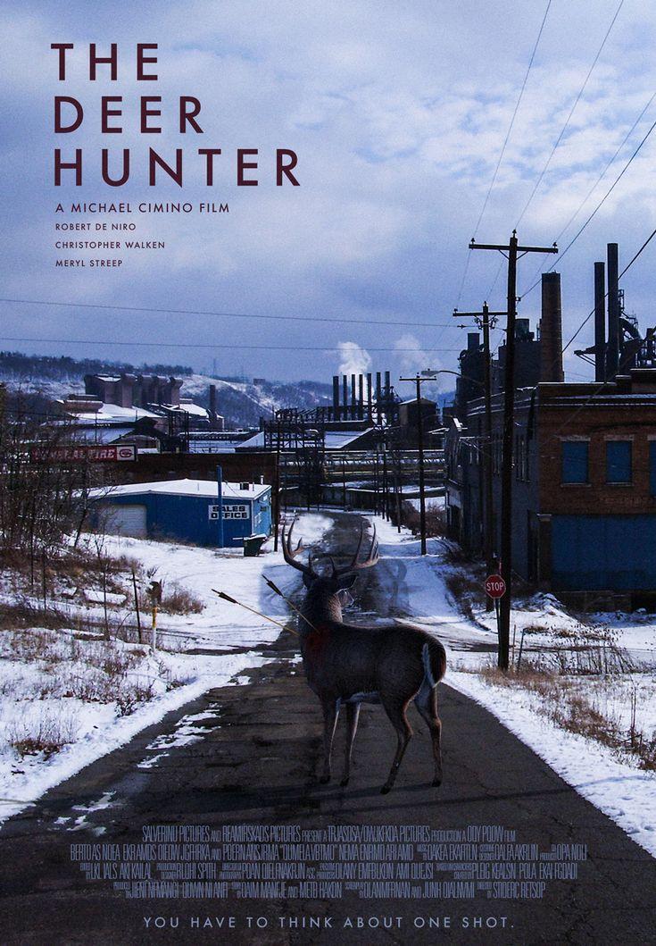 The Deer Hunter movie poster.