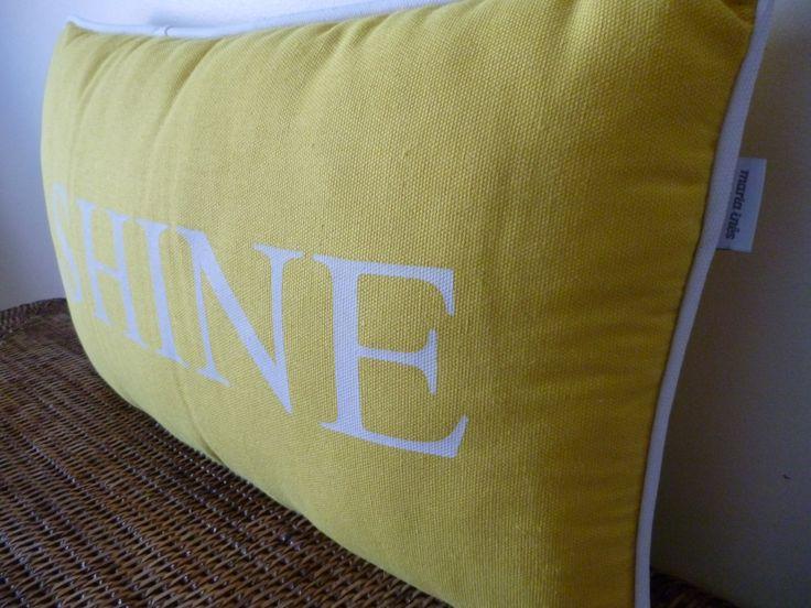 Almofada Shine, para brilhar em qualquer divisão da sua casa!