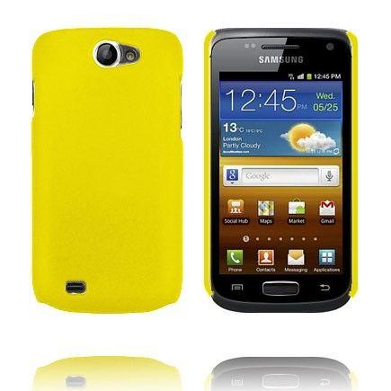 Hard Case (Keltainen) Samsung Galaxy W Suojakuori