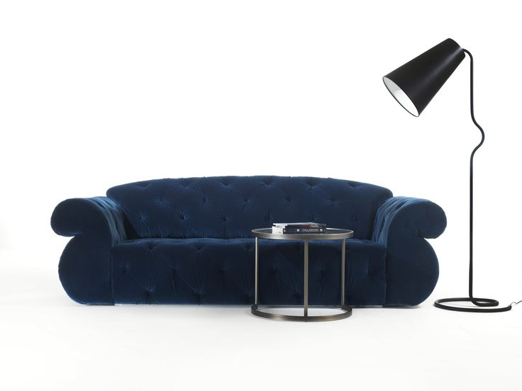 Velvet sofa Paramount by modacollection