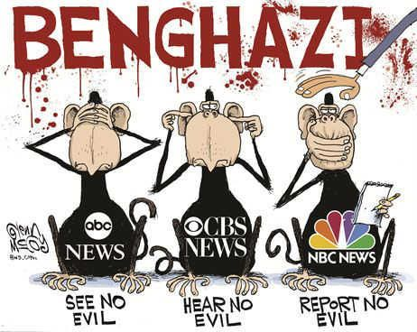 Our Media has NO shame...they're ignoring #Benghazi to save a failing ideology.