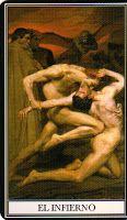 Sadurní Tarot: El ego, y el instinto de supervivencia.