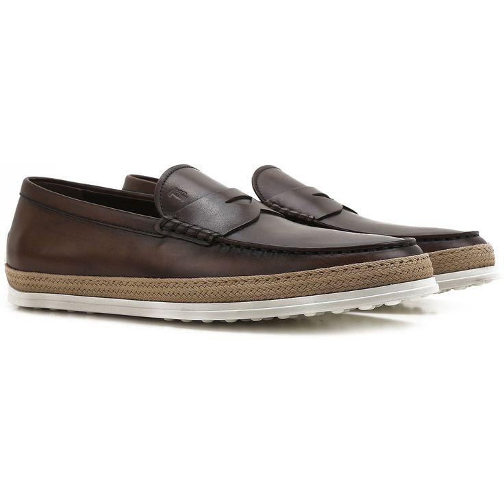 Man bietet Tod's Schuhe und Sneakers aus Leder für Herren. Italienische Mode.