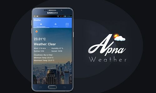 Get accurate weather details of your current location right on your smartphone with Apna Weather. This application features detailed weather report, weather forecast, hourly forecast, current temperature, minimum and maximum temperature, humidity percentage and sunrise & sunset time. The accuracy of Apna Weather is just what you need to know when is it the right time to venture out for a sunny day or stay indoor during rain or snow.