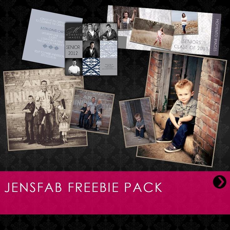 Free Timeline Template, Senior Card, Lightroom Preset and Photoshop Action!