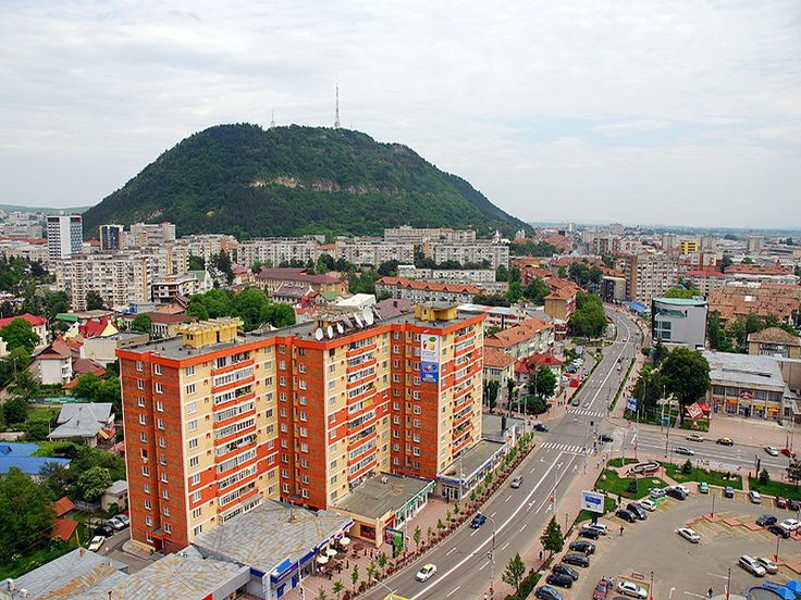 Orasul Piatra-Neamt, Romania.