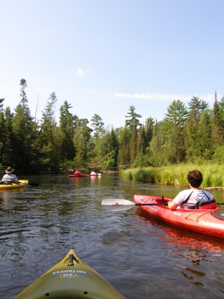 Kayaking the AuSable River. Grayling, Michigan Favorite