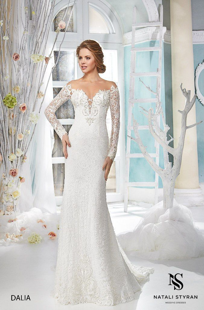 Custom Made Wedding Gowns - at a great price. Shop now Save 10%! Visit - http://glamourgownsandheels.com.au/dalia-wedding-gown-by-natali-styran/ #natalistyran