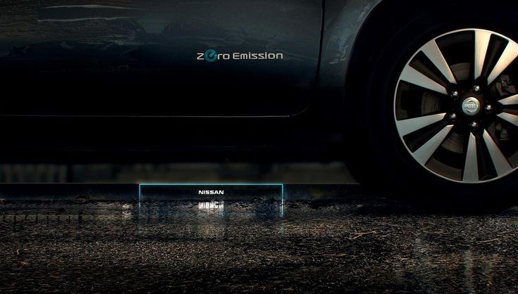 Ниссан показал зарядные станции будущего для электромобилей