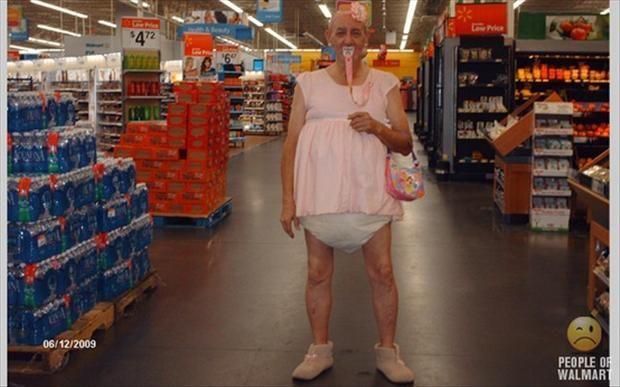 #Strange people #Walmart