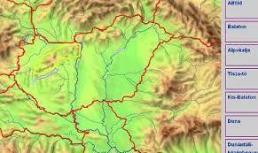 """Képtalálat a következőre: """"magyarország nagytájai térkép"""""""