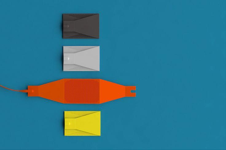 Fylm foldable speaker by Designaffairs