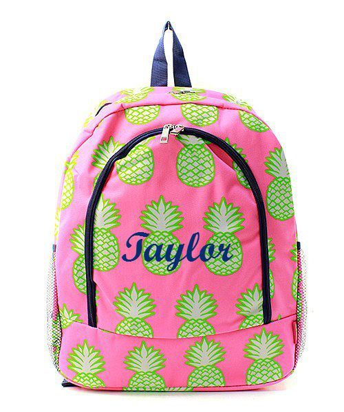 Check out this item in my Etsy shop https://www.etsy.com/listing/265555610/monogrammed-personalized-backpack