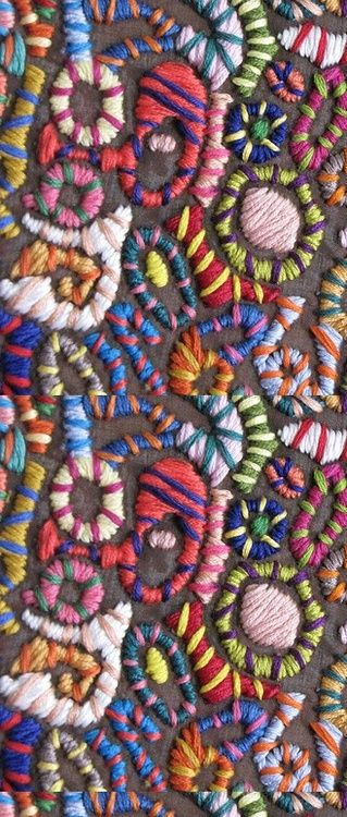 See the World Through Pattern and Colour, embroidery pattern