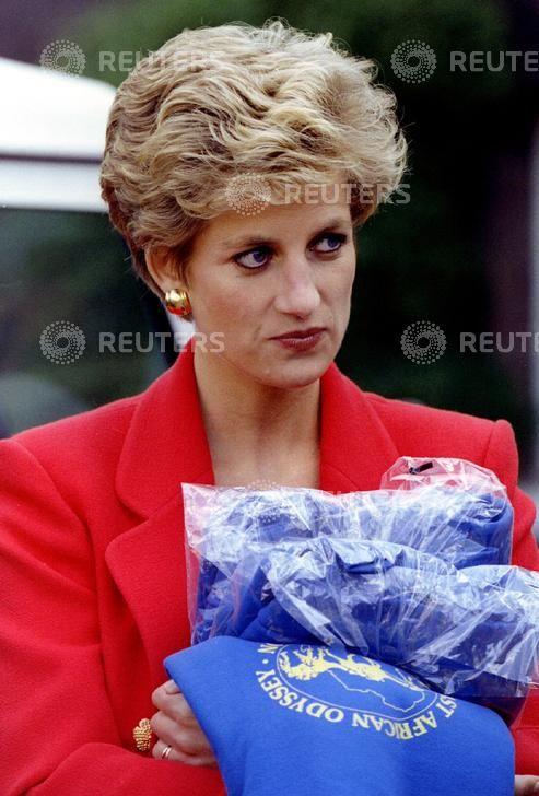 October 4, 1994: Princess Diana at Kensington Palace attending the launch of the…