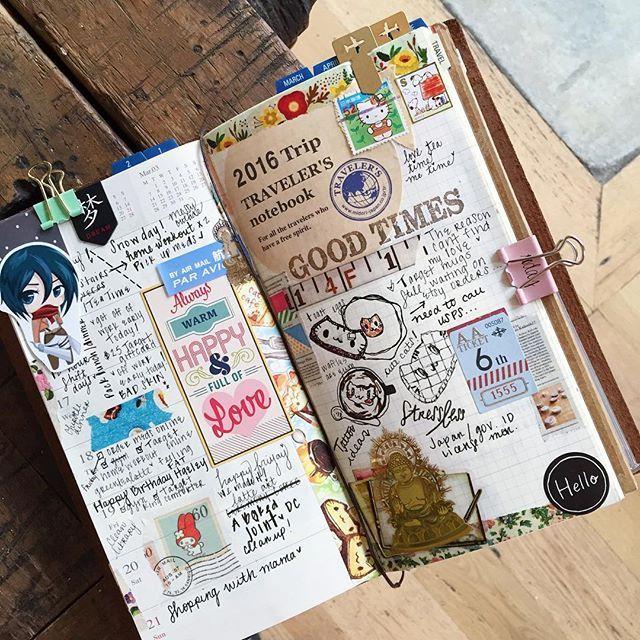 Traveler's journal