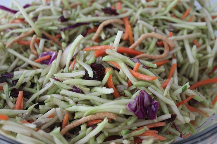 Asian Broccoli Slaw - 3 Weight Watchers pp | Weight ...
