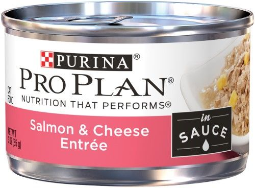 Purina Pro Plan Salmon (Pink) & Cheese Entree in Sauce