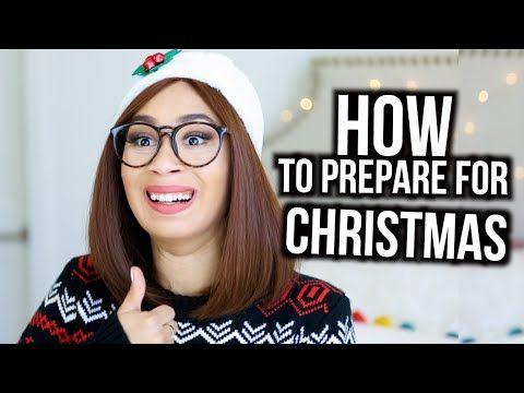 5 Ways To Prepare For Christmas! | Mylifeaseva - YouTube