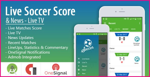 Source Code Live Soccer Score & News Android