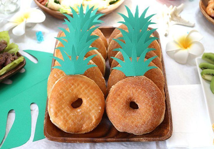 Eine tropische Geburtstagsfeier mit dem Thema Aloha Hawaiian