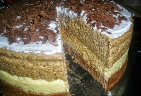 PIJESAK TORTA: Torta bez pečenja, gotova za 20 minuta ~ Vrhunski recepti