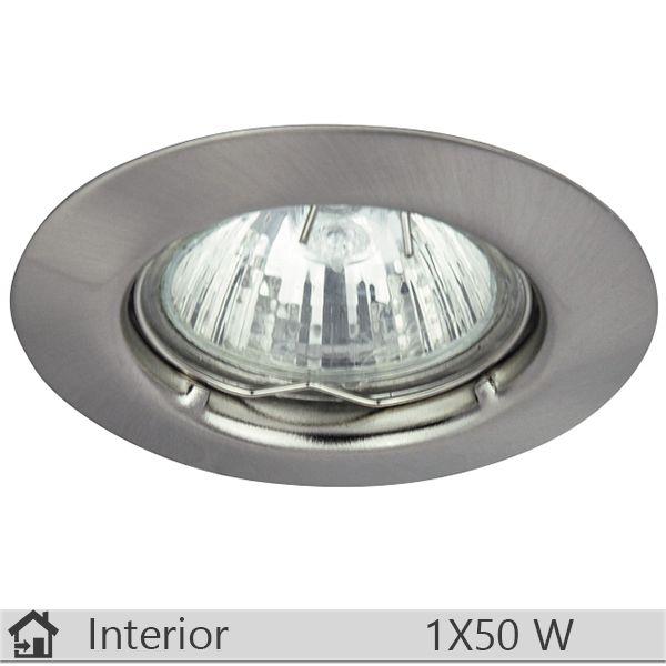 Spot incastrat iluminat decorativ interior Rabalux, gama Spot relight, model 1089http://www.etbm.ro/corpuri-de-iluminat