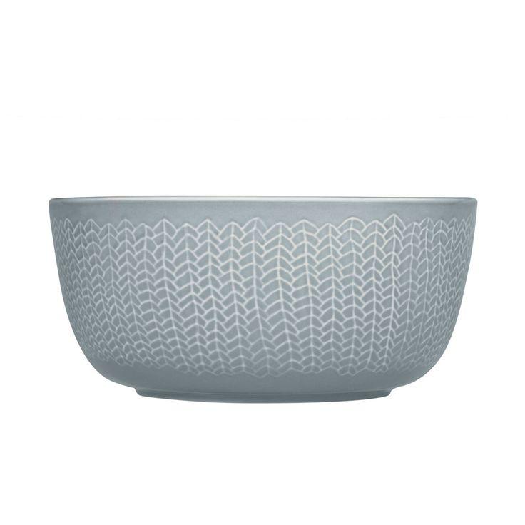 Sarjaton Bowl, Pearl Grey, Iittala #iittala #finnishdesign #royaldesign #design