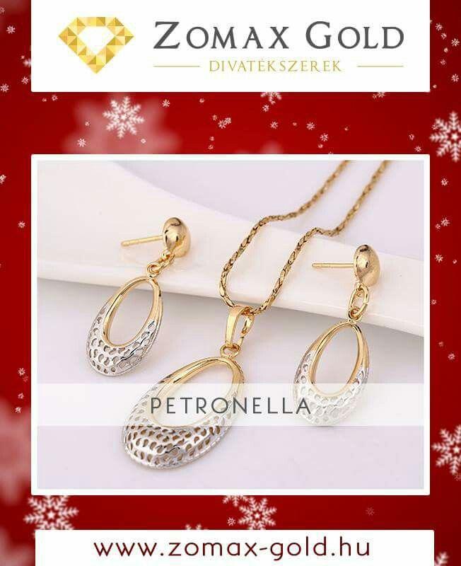 Karácsonyi ajándék ötlet!  Zomax-Gold divatékszerek www.Zomax-Gold.hu
