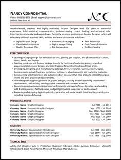 9 Best Resumes Images On Pinterest Resume Examples