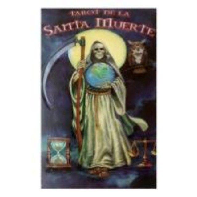 tarot-coleccion-tarot-de-la-santa-muerte-tristan-y-roberto-castro-80-cartas-1-edicion-berbera-2014-09-16 #tarot #santamuerte