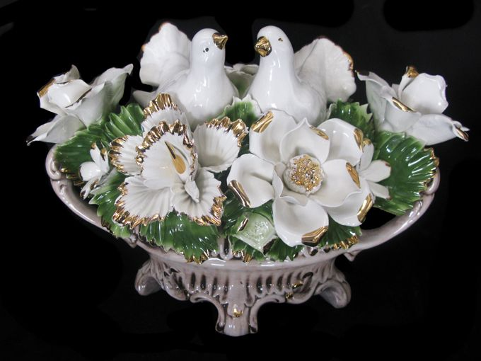 Best capodimonte images on pinterest crystals