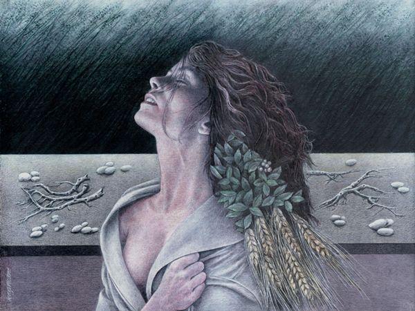 """un opera ad olio su tavola di Renzo Verdone dal titolo """" Esplorando la propria solitudine"""""""