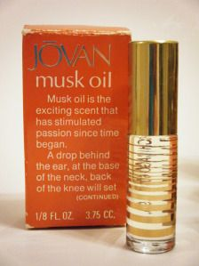 Vintage Jovan Musk oil....we moved up from Love's Baby Soft to Musk and again, I'm sure the teachers were gagging with hundreds of girls all wearing the same thing to school!